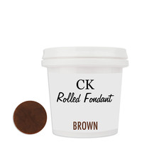 Chocolate Brown CK Fondant 8oz