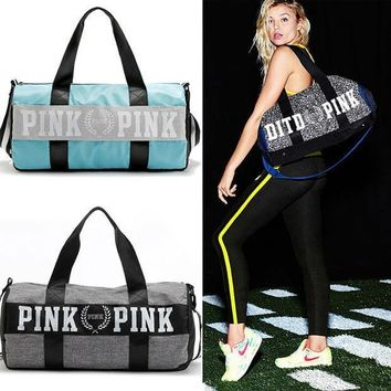 Nylon Outdoor Women Sport Bag Professional  Femal Fitness Shoulder Gym Bag Hot Training Female Yoga Duffel Bag Free Shipping
