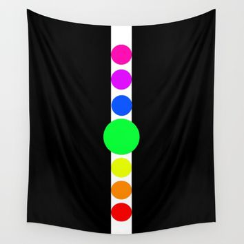 the cycles of life Wall Tapestry by Azima