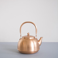 Azmaya Japanese Copper Kettle: Remodelista