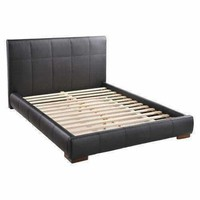 Amelie Bed Queen Black