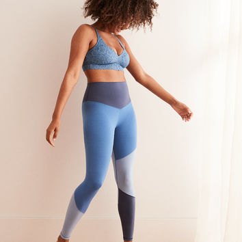 Aerie Play Real Me High Waisted 7/8 Legging, Warm Waters