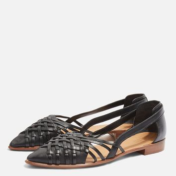 Abstract Woven Shoes | Topshop