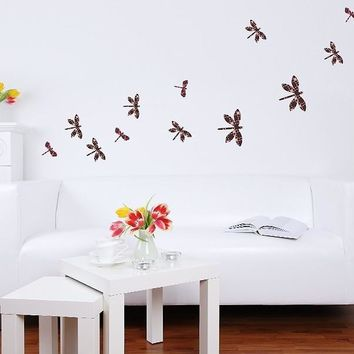 Dragonfly Set Wall Decal