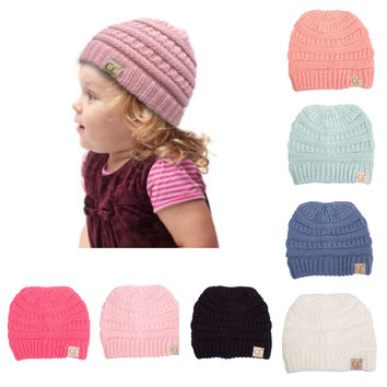 """Cute as a Button"" Always Adorable Youth CC Beanies"