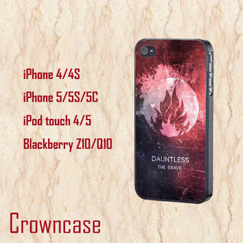 ipod 5 case,ipod 4 case,iphone 5s case,iphone 5c case,iphone 5 case,iphone 4 case,z10 case,q10 case--cool Divergent,in plastic and silicone.