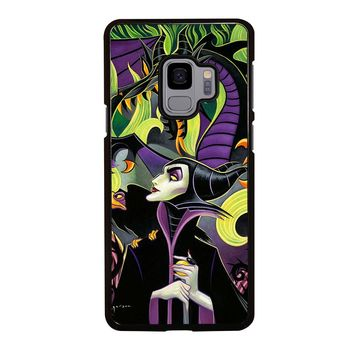 MALEFICENT'S DISNEY ART Samsung Galaxy S3 S4 S5 S6 S7 S8 S9 Edge Plus Note 3 4 5 8 Case