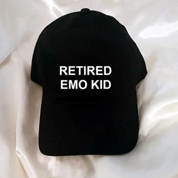Retired Emo Kid Baseball Hat