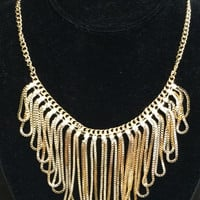 Keep on Shining Necklace: Gold