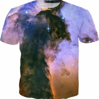 Eaglefairy General | Universe Galaxy Nebula Star Clothes | Rave & Festival Shirt