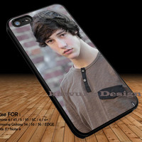 Brown Shirt Cameron Dallas iPhone 6s 6 6s+ 5c 5s Cases Samsung Galaxy s5 s6 Edge+ NOTE 5 4 3 #movie #MagconBoys DOP2213