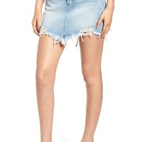 McGuire Izabel Angled Hem Denim Skirt (Don't Fade Away) | Nordstrom