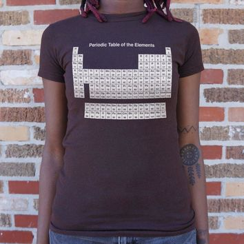 Periodic Table Women's T-Shirt