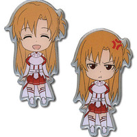 Crunchyroll - Sword Art Online Happy & Angry Asuna Pin Set