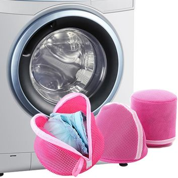 High Quality Women Bra Laundry Lingerie Washing Hosiery Saver Clothes Protect Mesh Intimates Accessories Bag Drop