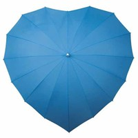Sky Blue Heart Umbrella
