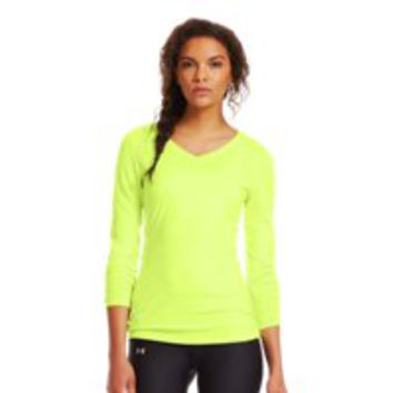 Under Armour Women's ColdGear Infrared V-Neck Long Sleeve