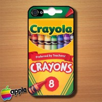 Crayola Crayon Box Custom iPhone 4 or 4S Case Cover