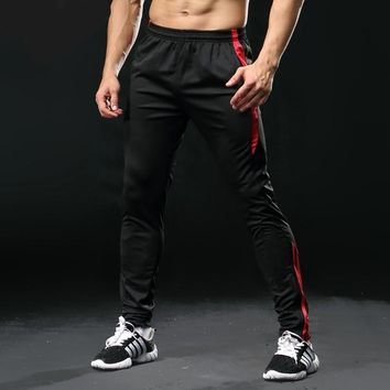 Mens Casual Exercise Fitness  Jogging Pants With Pocket
