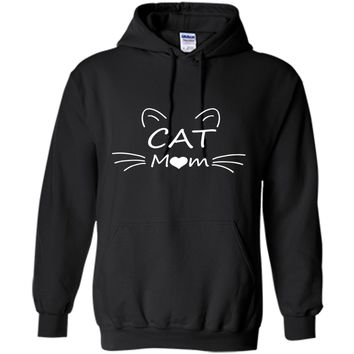 Cat Mom T- Shirt