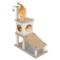 Kitty City Cat Play Tower Cat Toy