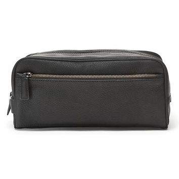 Banana Republic Leather Travel Kit Size One Size - Black