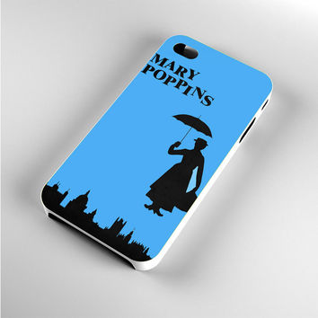 Mary Poppins Black iPhone 4s Case