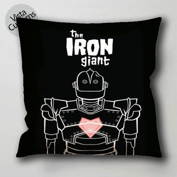 the iron giant movie pillow case, cushion cover ( 1 or 2 Side Print With Size 16, 18, 20, 26, 30, 36 inch )