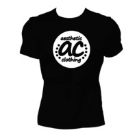 The Brand - Aesthetic Clothing - Men's Tee - Black/White