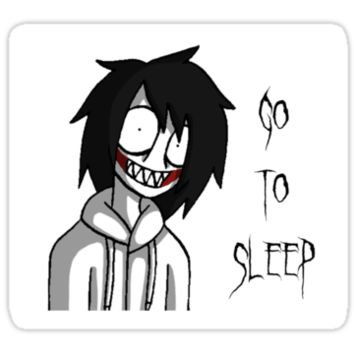 Jeff the Killer Sticker