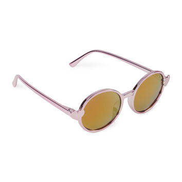 Toddler Girls Heart Icon Round Sunglasses   The Children's Place