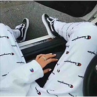 Champion Popular Women Men Fashion Personality Full Print Sport Stretch Pants Trousers Sweatpants I-MG-FSSH