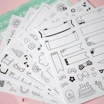 Paper DIY Stickers
