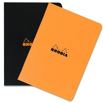 Rhodia A4 Large Size Side-Stapled Notebook LINED