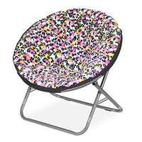 Multi Cheetah Saucer Chair