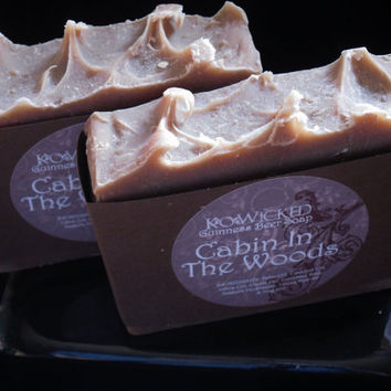 Cabin in the Wood's Mens Guinness Beer Soap