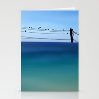 Cretan Sea & Birds I Stationery Cards by Pia Schneider [atelier COLOUR-VISION]