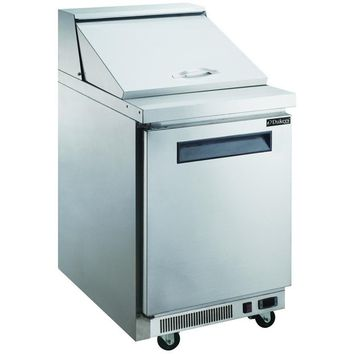 Commercial Single Door Sandwich / Salad Prep Table 29""