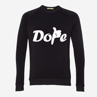 Mickey Hand - Dope fleece crewneck sweatshirt