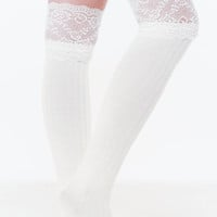 Lace U There Over-The-Knee Socks