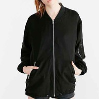 Cheap Monday Boom Bomber Jacket- Black