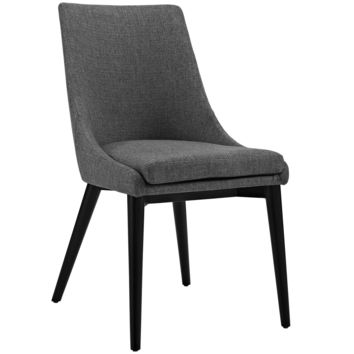 Viscount Fabric Dining Chair Gray EEI-2227-GRY