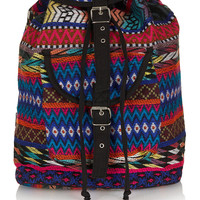 Zig Zag Ikat Backpack - Bags & Wallets - Bags & Accessories - Topshop USA