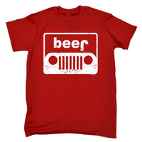 123t USA Men's Beer 4x4 Funny T-Shirt