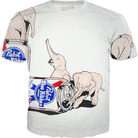 Elephants And PBR Tee | Spring Collection