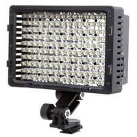 Flashpoint On Camera 160 LED Video Light, Dimmable