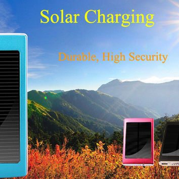 30000mAh Solar Panel Power Bank Mobile Power Bank with Dual USB for iPhone, iPad , Samsung S4 i9500 , i9505 , LG , MOTO , Nokia , Sony , HTC etc