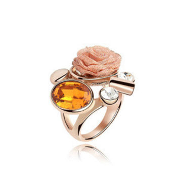 Shiny Jewelry New Arrival Stylish Gift Crystal Ring [4989614084]