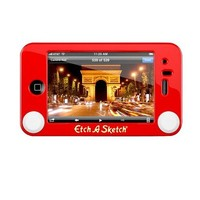 Headcase RSI-137-2 Etch A Sketch Hard Case for iPhone 3G/3GS - Red