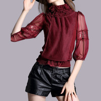 Romantic Lace Shirt
